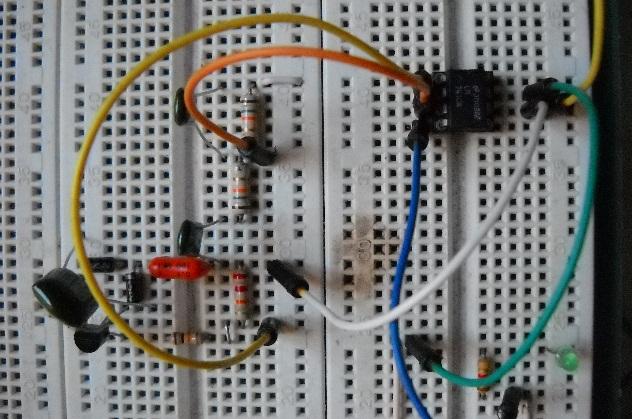 NE555 Wien Sinusoidale segnale schema Ponte Oscillatore Generatore frequenza circuito 1KHz