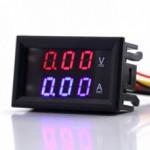 NE555 Voltmetro tensione schema regolabile laboratotio duale Corrente alimentatore 5A 5 20V 1
