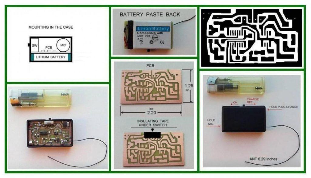 NE555 spy microphone spy bug transmitter schematic spy transmitter schematic spy microphone schematic spy bug