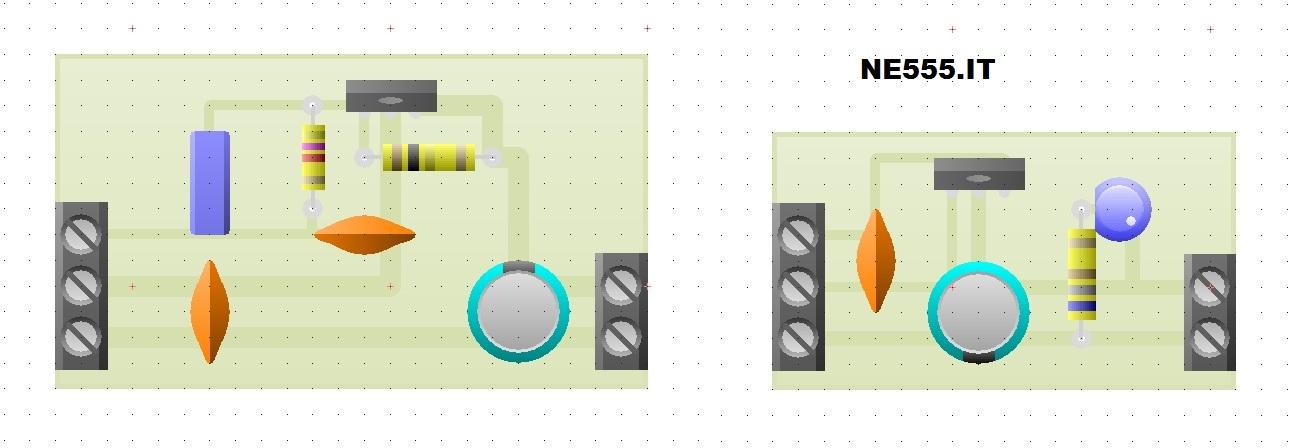 PCB Alimentatore Wireless trasmittente e ricevente