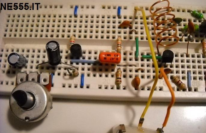 Trasmettitore fm 5W mixer assemblato