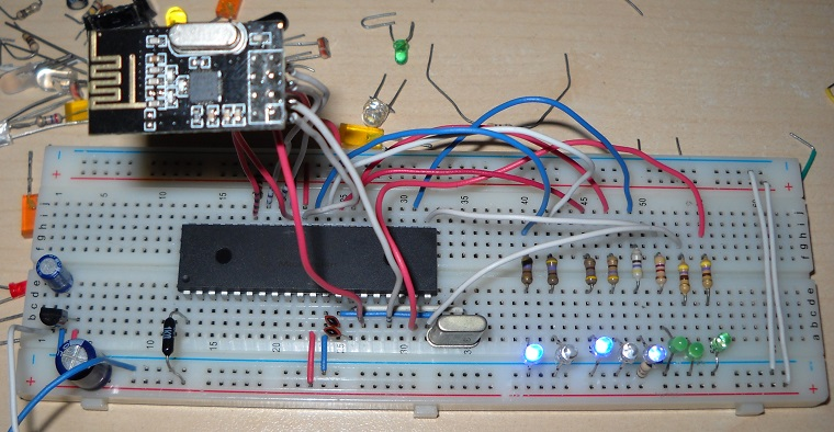 nrf24l01+ ricevitore receiver RX