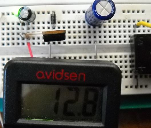 regolatore lineare con diodo
