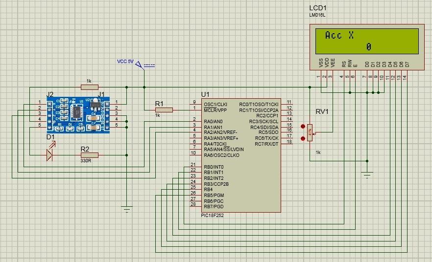 schema circuito esempio mma7361