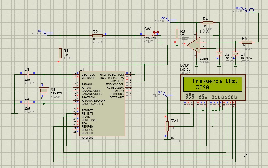 schema frequenzimetro