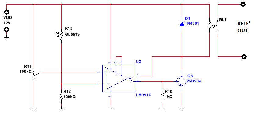 schema-crepuscolare-con-transistor-e-rele