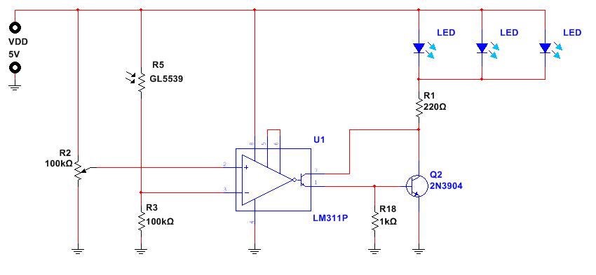 schema-crepuscolare-con-transistor-e-led