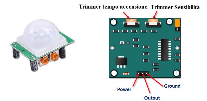 Sensore Per Accendere La Luce.Interruttore Crepuscolare Con Pir Ne555