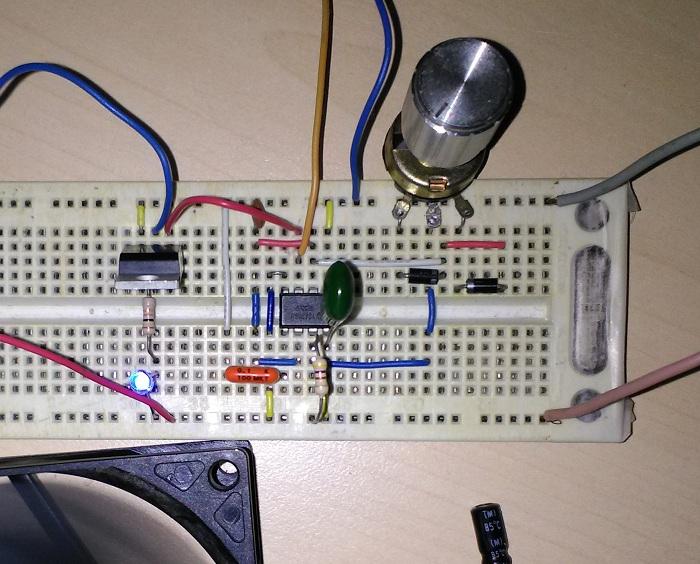 Schema Elettrico Regolatore Di Tensione Velocità Motore Elettrico Corrente Continua : Regolatore velocitÀ per motori dc ne555