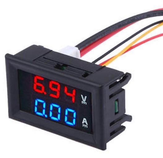Schema Elettrico Voltmetro Per Auto : Collegare i moduli voltmetro amperometro ne555